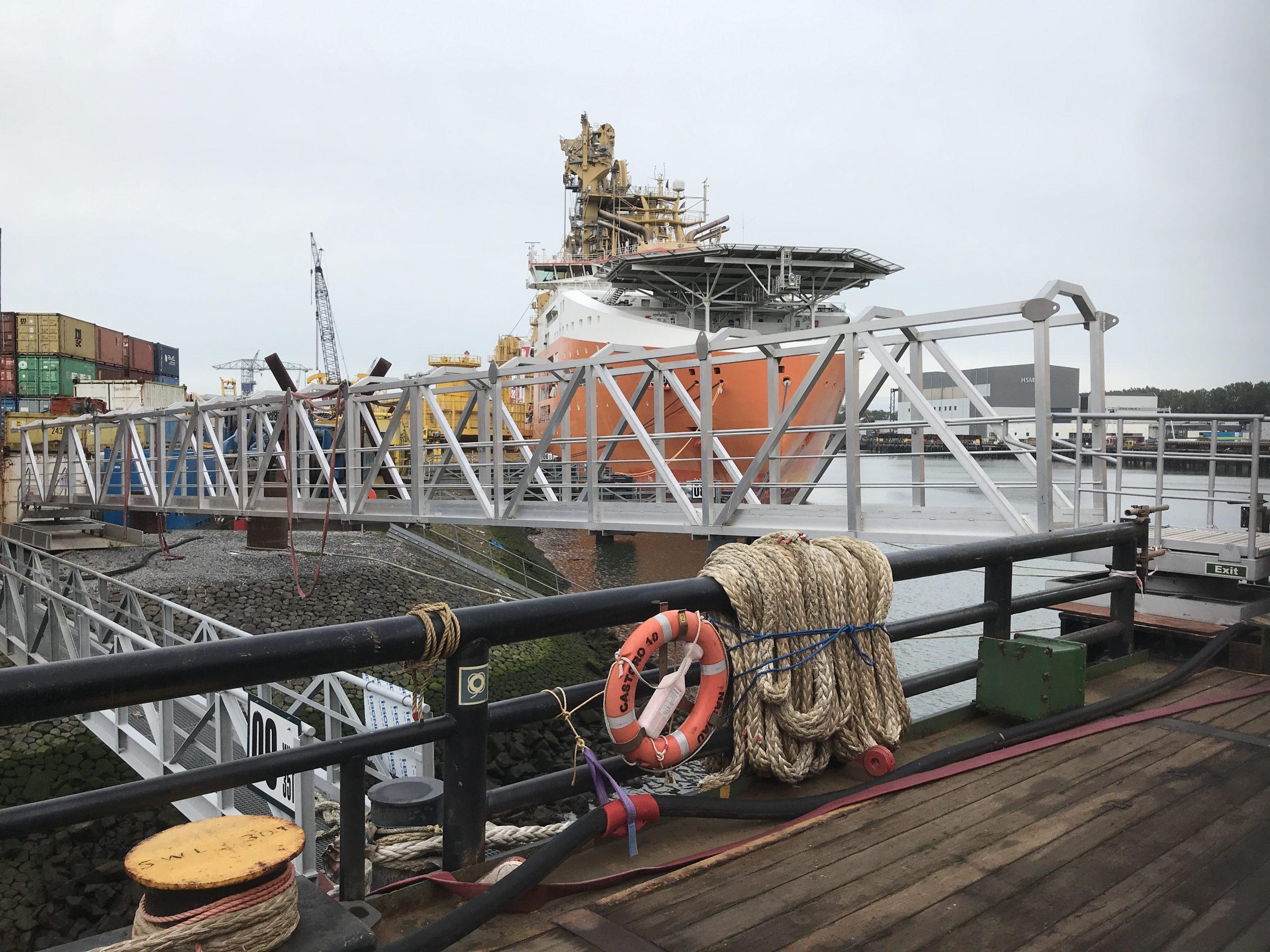 Offshore bridge